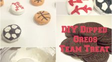 DIY Dessert - Dipped Oreo Team Treat
