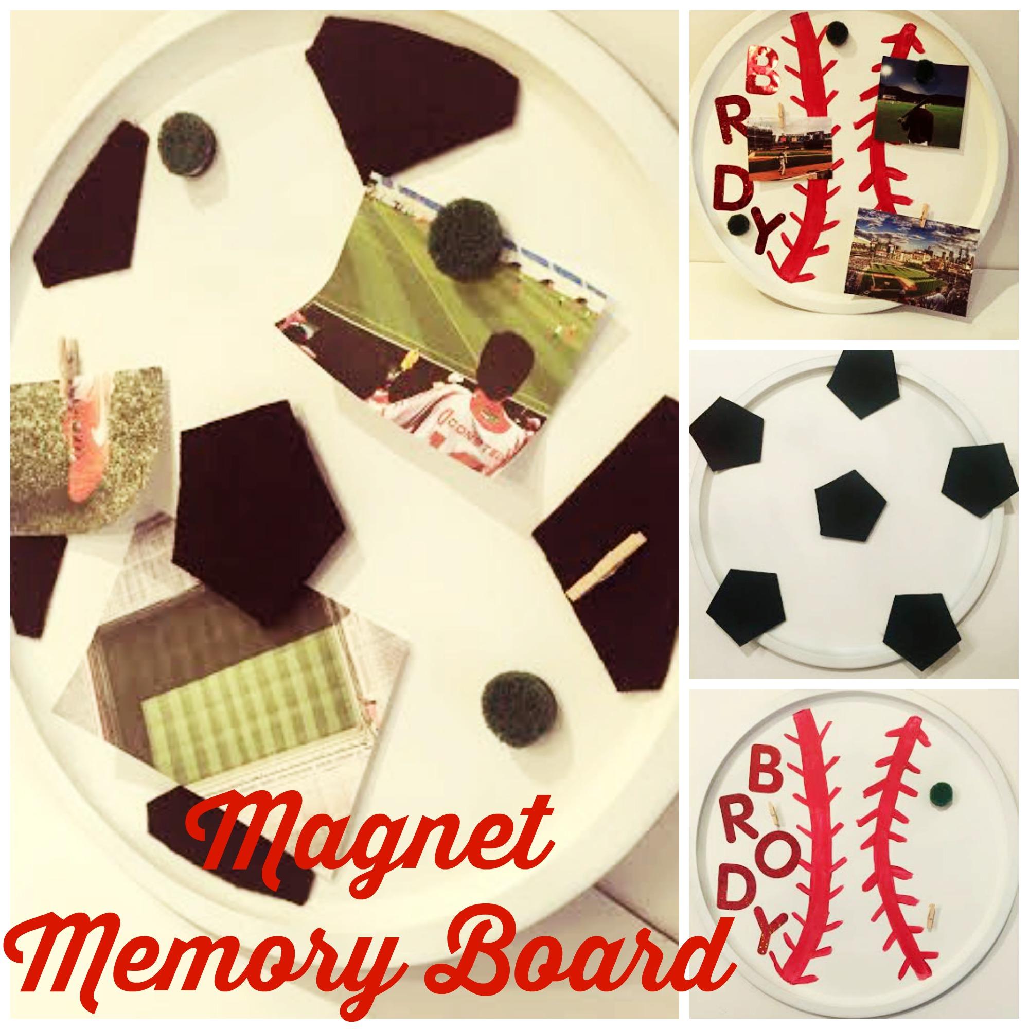 Magnet Memory Board