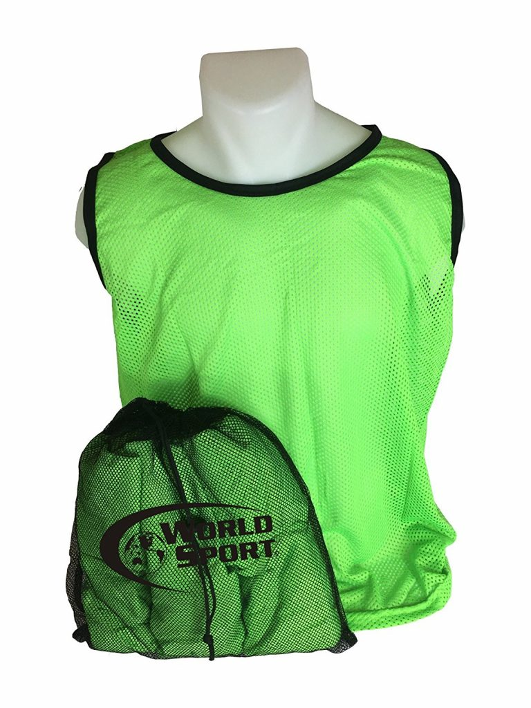 Adult Green Scrimmage Vests