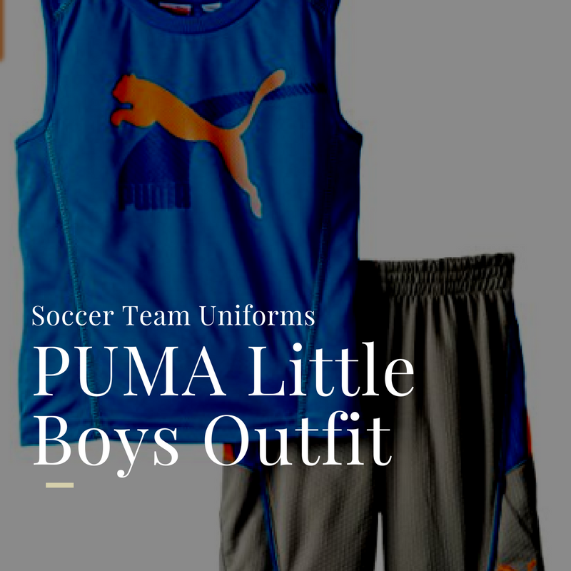 puma kids soccer outfit