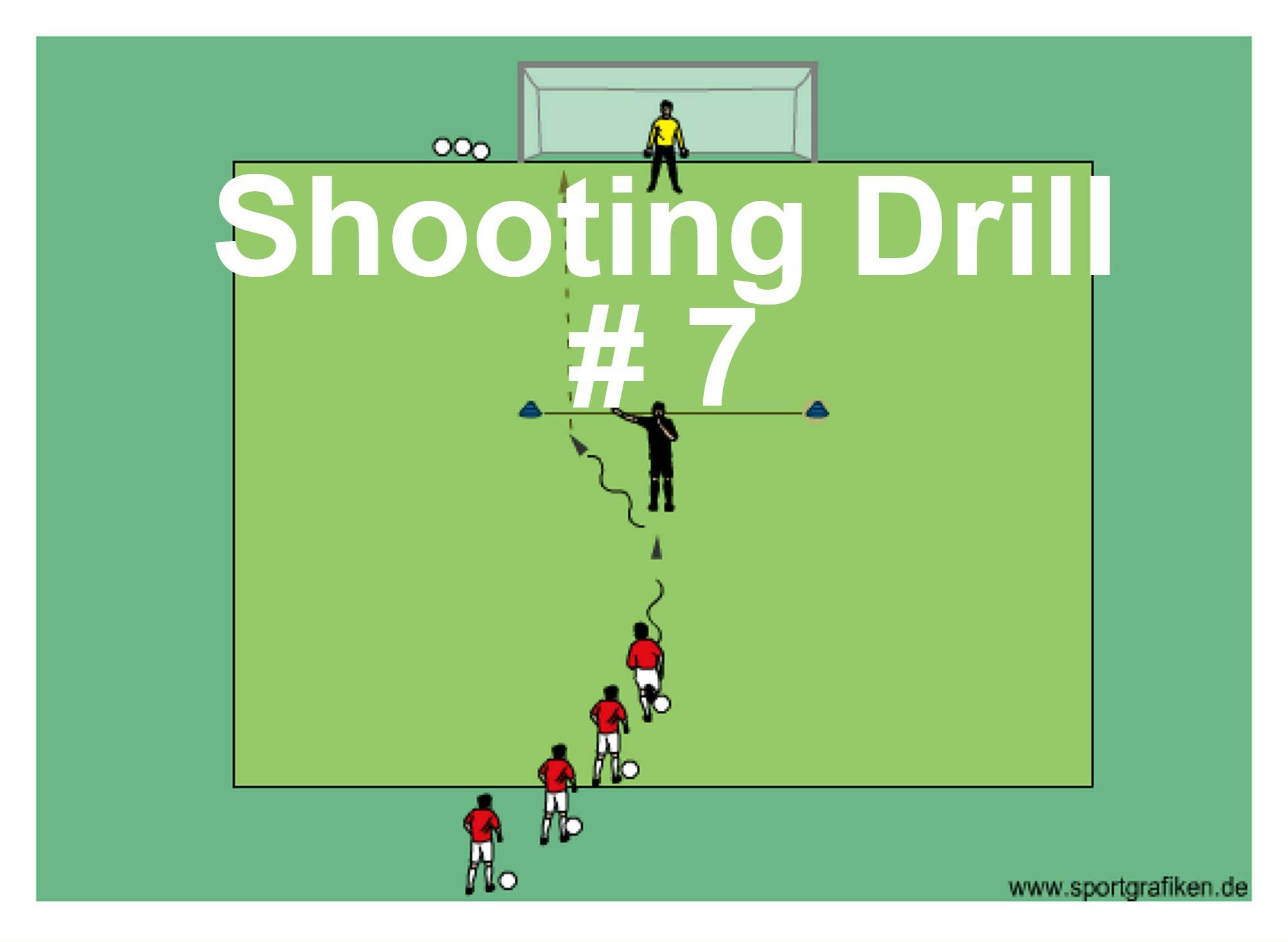 Fun Shooting Drill Shooting Tips: Soccer Shooting And Skills Techniques