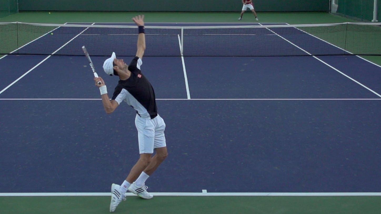 Tennis Serve Motion Practice