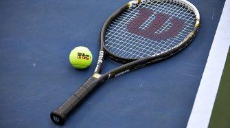 Wilson Tennis Racket and Wilson Tennis Ball