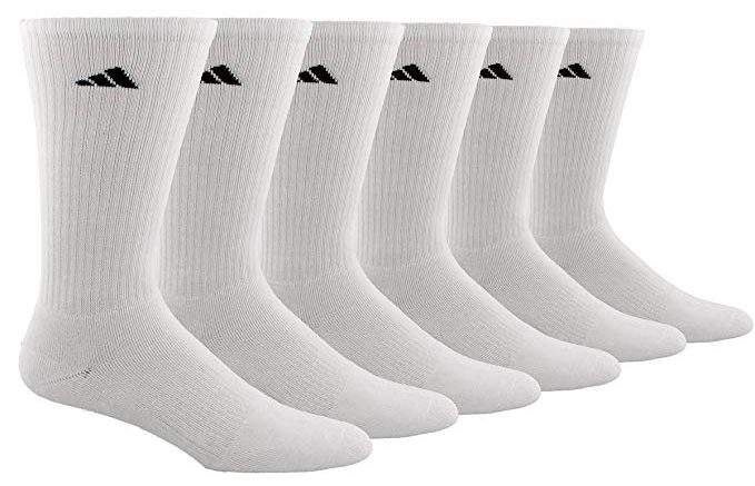 Adidas Men's Athletic Cushioned Crew Socks