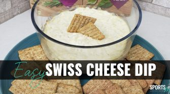 Easy 3-Ingredient Swiss Cheese Dip