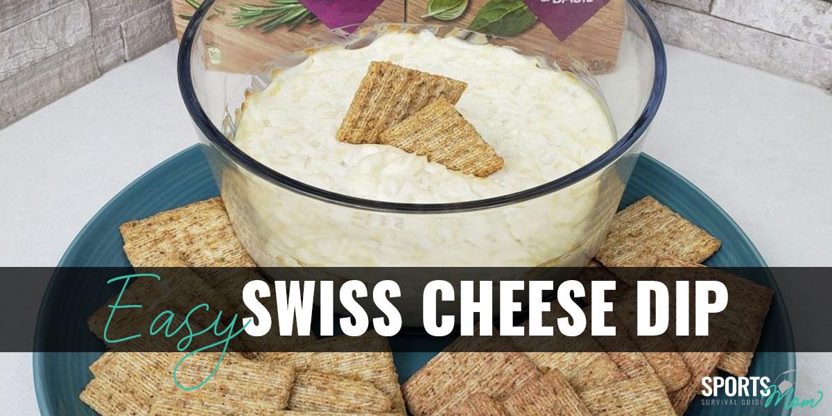 Easy 3-Ingredient Swiss Cheese Dip