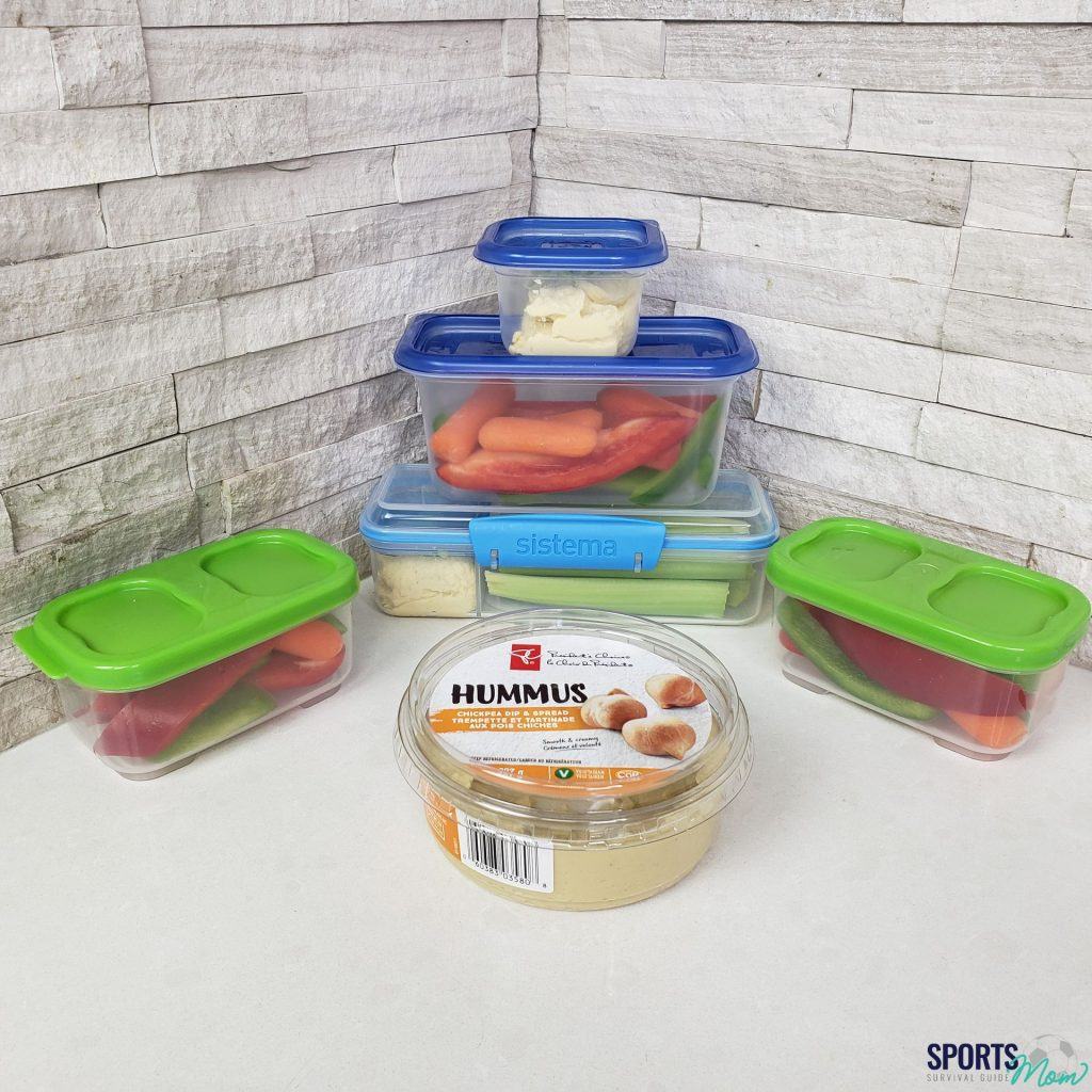 Hummus & Mixed Vegetables