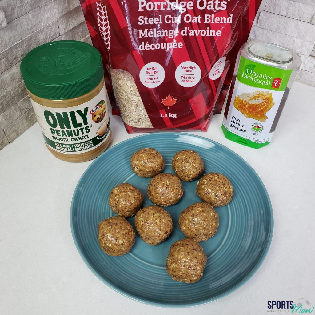 Peanut Butter Protein Power Balls