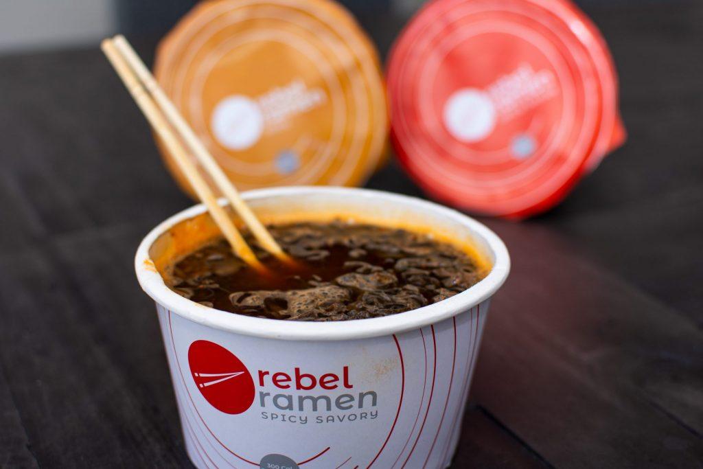 Rebel Ramen instant noodles