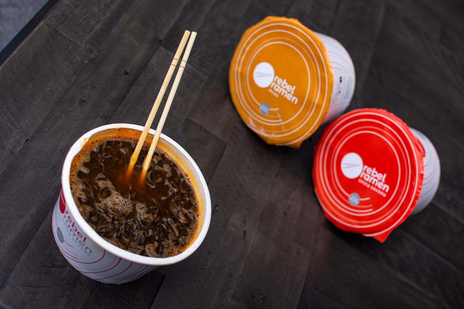 Rebel Ramen healthy instant noodles