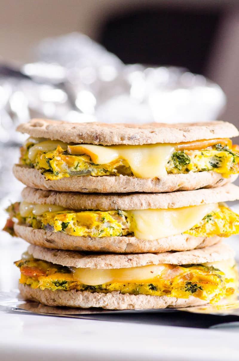 Veggie, Egg, & Cheese Flatbread