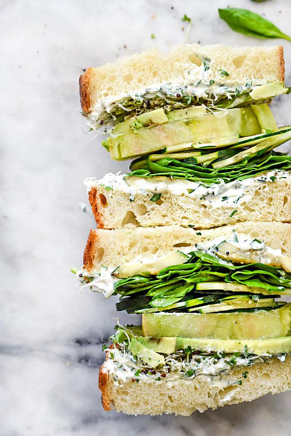 Green Goddess Cream Cheese & Veggies