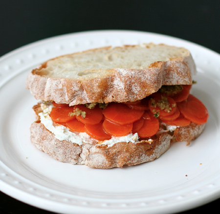 Carrot and Goat Cheese