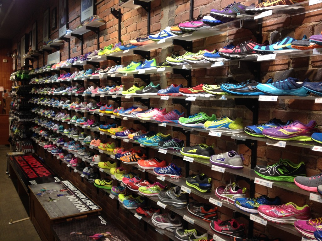 specialty shop for running shoes