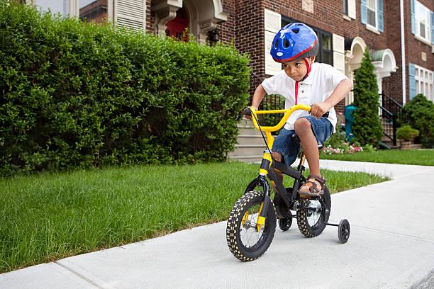 keeping kids safe riding bikes